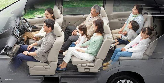 日産 セレナ NISSAN SERENA nissan serena Nissan シートアレンジ 3列ゆったりモード