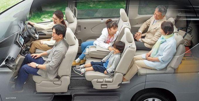 日産 セレナ NISSAN SERENA nissan serena Nissan シートアレンジ 6人旅モード