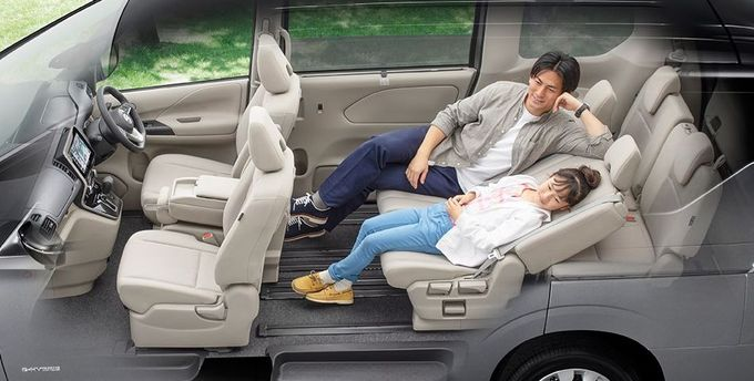日産 セレナ NISSAN SERENA nissan serena Nissan シートアレンジ 2列スーパーリラックスモード