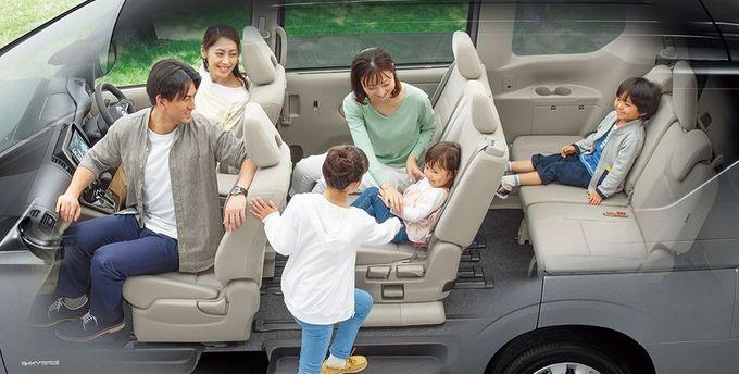 日産 セレナ NISSAN SERENA nissan serena Nissan シートアレンジ 2列目横スライドウォークインモード