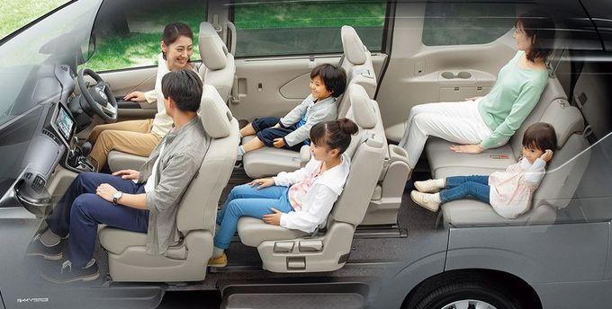 日産 セレナ NISSAN SERENA nissan serena Nissan シートアレンジ 3列目用テーブルモード