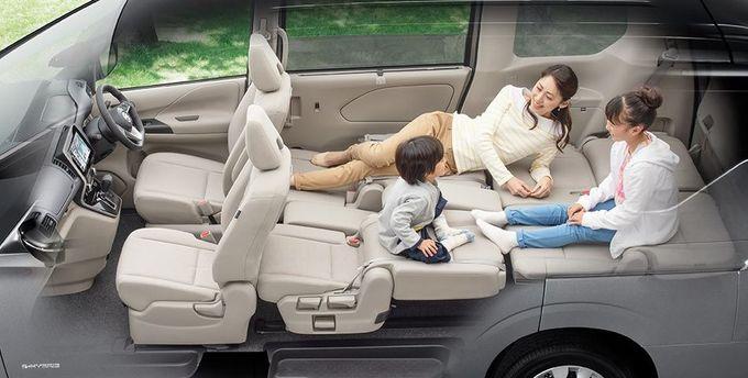 日産 セレナ NISSAN SERENA nissan serena Nissan シートアレンジ 2-3列フルフラットモード