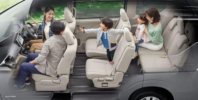 日産 セレナ NISSAN SERENA nissan serena Nissan シートアレンジ 1-2-3列ウォークスルーモード