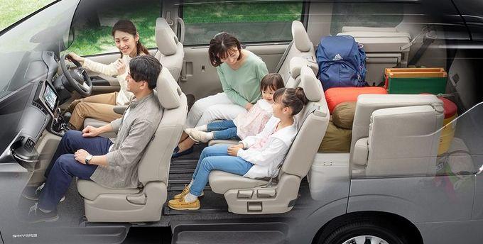 日産 セレナ NISSAN SERENA nissan serena Nissan シートアレンジ 2列目+荷物モード