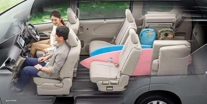 日産 セレナ NISSAN SERENA nissan serena Nissan シートアレンジ スーパーカーゴモード