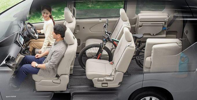 日産 セレナ NISSAN SERENA nissan serena Nissan シートアレンジ 自転車載せモード