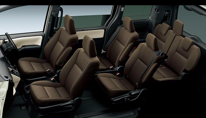 R30G/W型トヨタ ノアのグレード別内装・収納・シートアレンジをご紹介! シートアレンジ